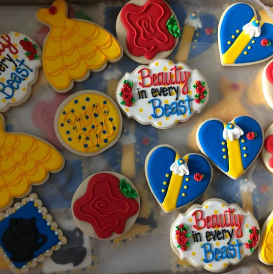 Thanks to Bakes by Beth for these beautiful cookies!