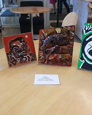 Nigel Adams' artwork for the exhibition.