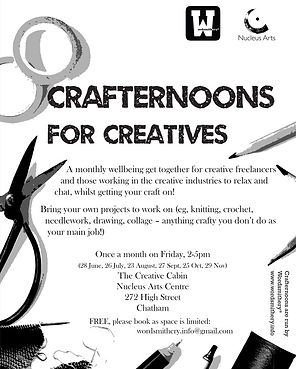 Crafternoon poster