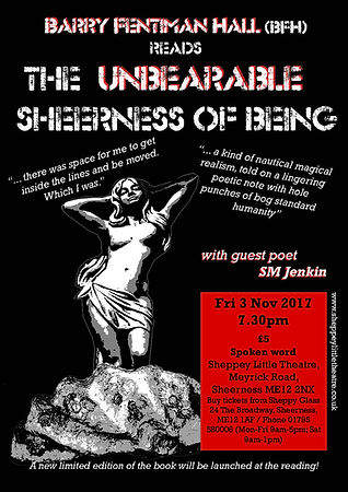 Poster for The Unbearable Sheerness live