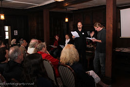 Performing at the Dickens Festival - photo