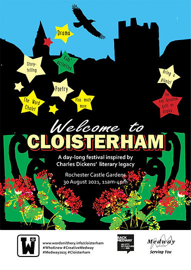 Poster of Welcome to Cloisterham event