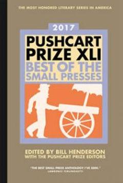 Pushcart anthology cover
