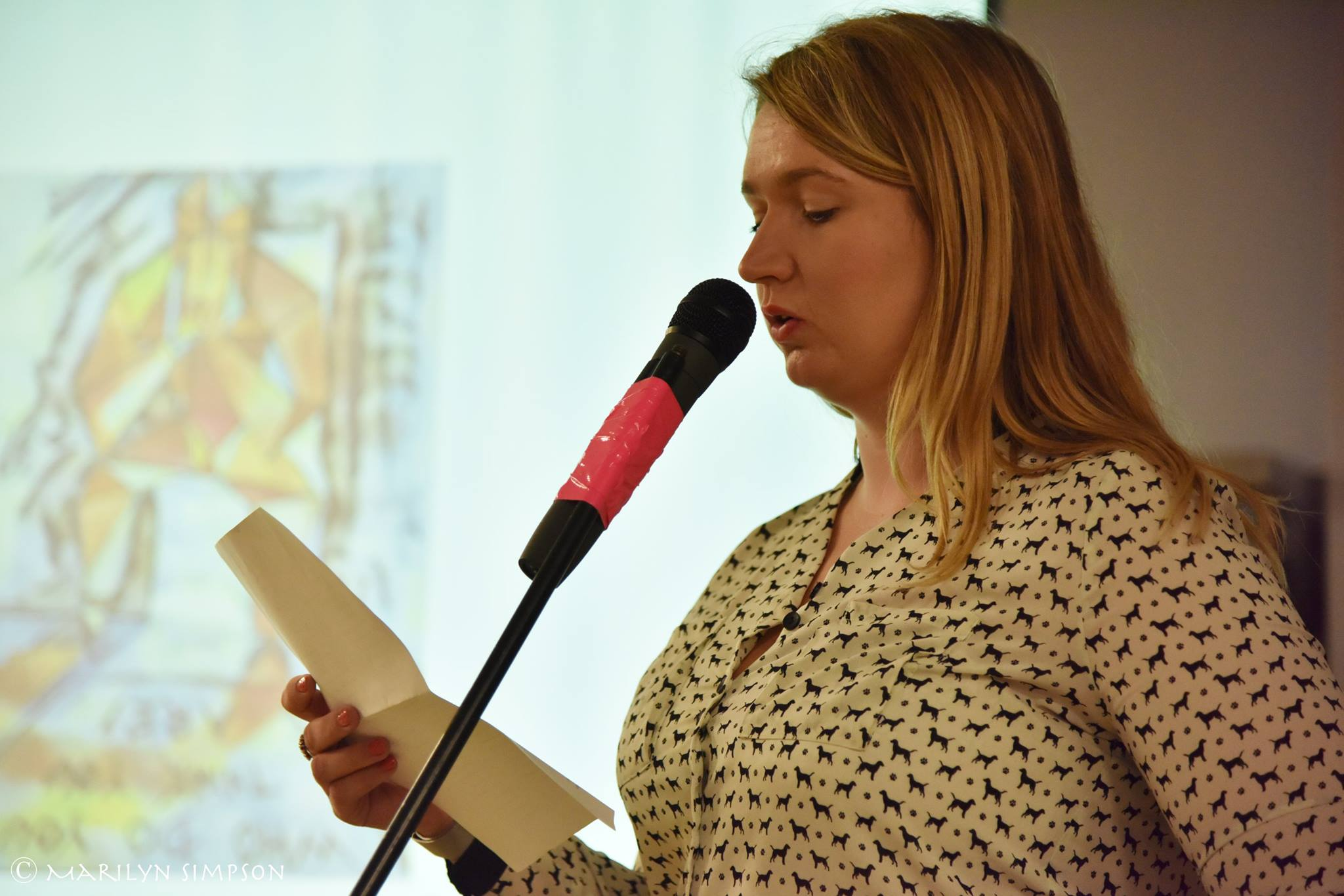 Hayley Wishart reads
