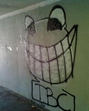 Grafitti in Chatham.