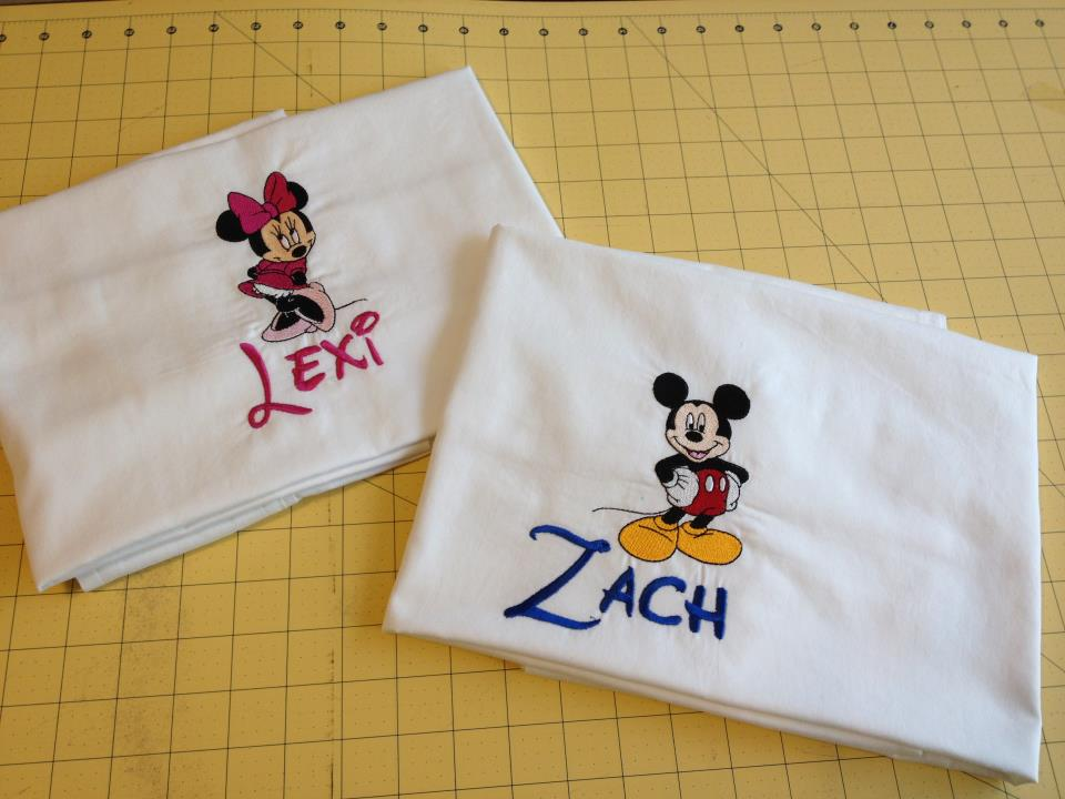 Signature Disney Pillowcases