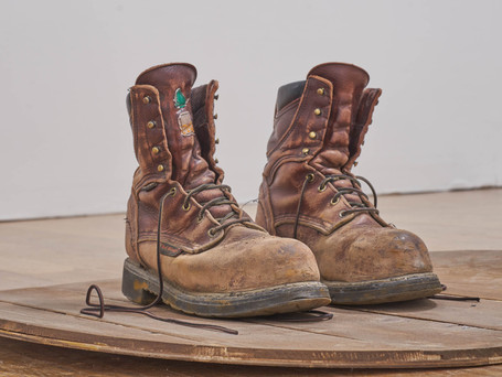 """""""Do these boots fit?"""" (detail)"""