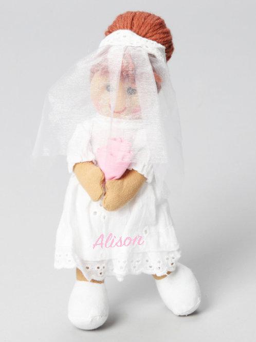 Flowergirl /Wedding Ragdoll – PERSONALISED