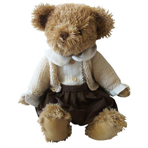 Vintage Inspired Luxury Girl Teddy - PERSONALISED