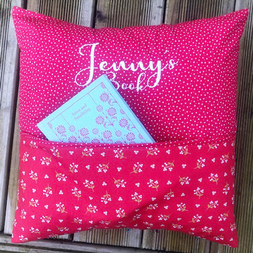 Book Lovers Cushion - Any Style /Design