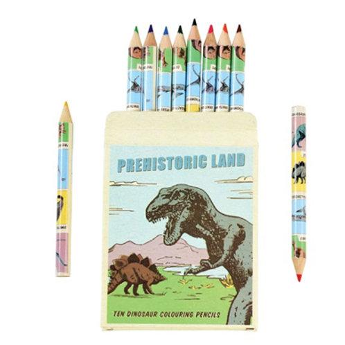 Dinosaur Box of Colouring Pencils