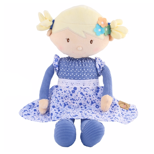 Super Soft Ragdoll in Blue / Blonde  - PERSONALISED