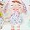 Thumbnail: Meetoo© Plush Retro Bunny – PERSONALISED