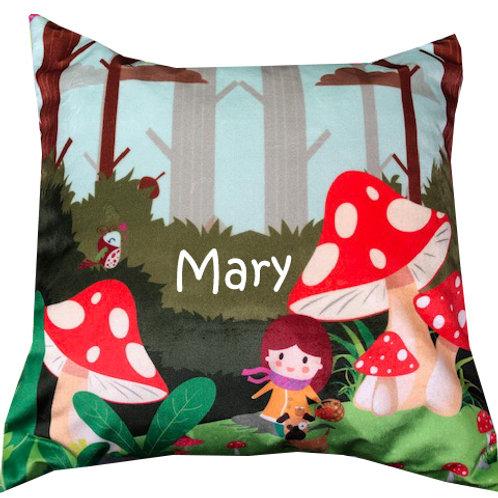 Printed Velvet Cushions - Personalised