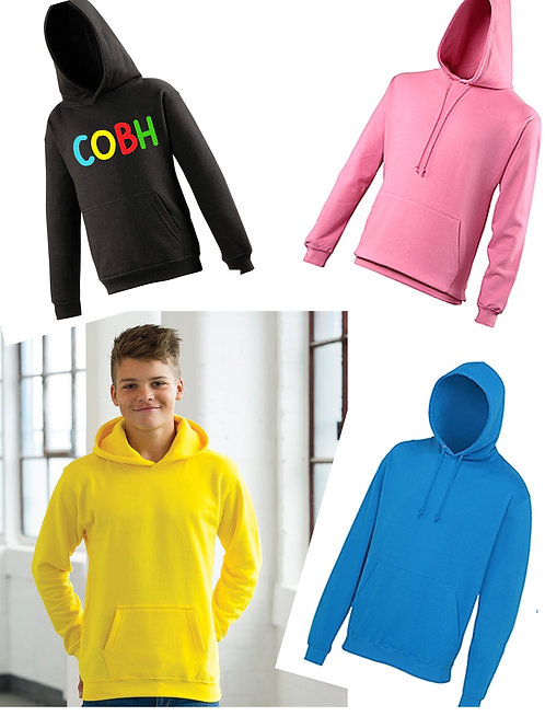 Personalised Hoodies for Children - Age 5 upto Age 13