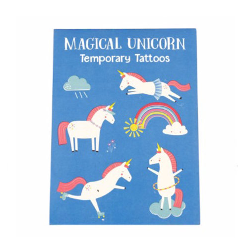 Magical Unicorn Temporary Tattoos