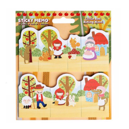 Little Red Riding Hood - Memo Pads