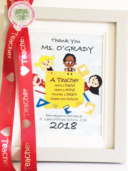 Teacher Frame (Small) - Say Thank You