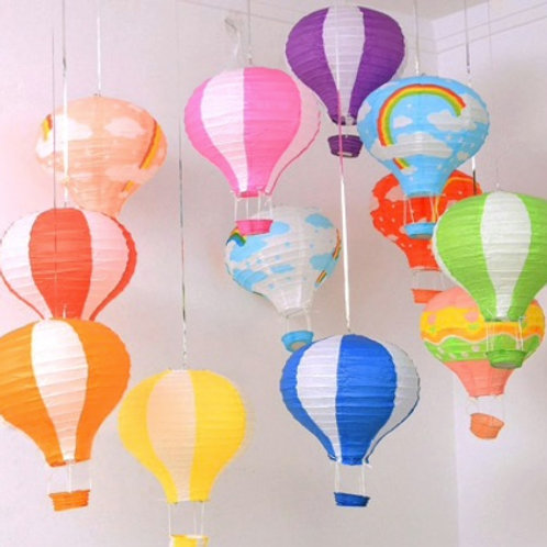 Decorative Hot Air Balloon - Paper
