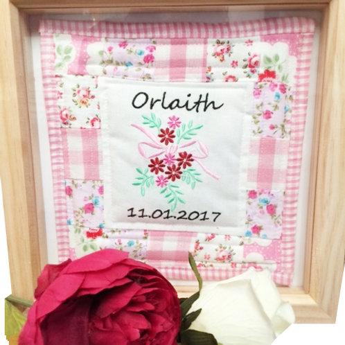 *New* Box Framed Mini Quilt