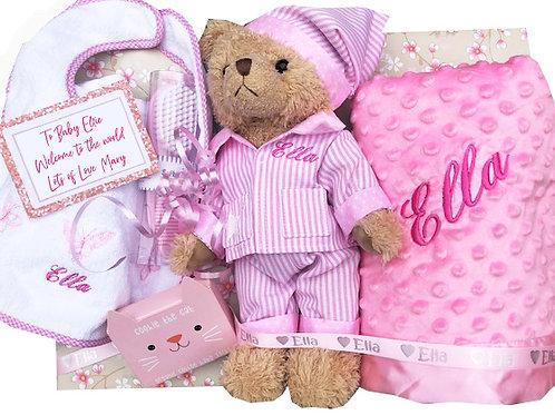Pink Baby Pack - Personalised