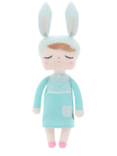 Meetoo© Plush Turquoise Bunny – PERSONALISED
