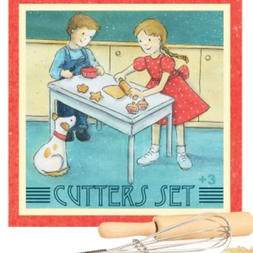 Gift Boxed Cookie Cutter Set by Egmont