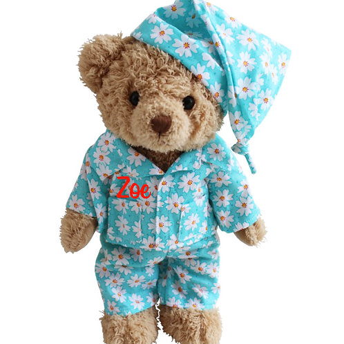 Daisy themed Teddy Bear - PERSONALISED