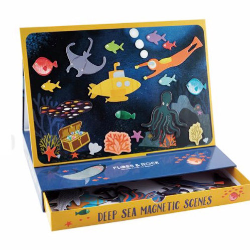 Magnetic Deep Sea Play Scene