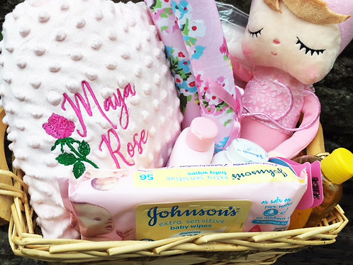 Newborn Baby Personalised Hamper