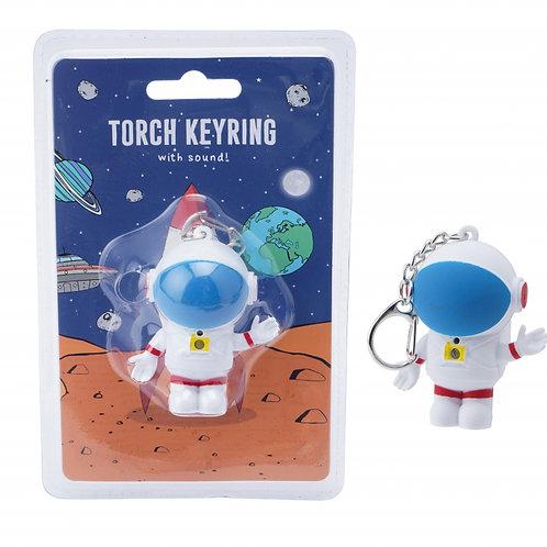 Astronaut Torch Key Ring - Stocking Filler