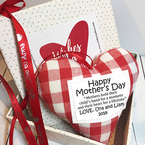 Mother's Day Heart Decoration - Mam/Mother