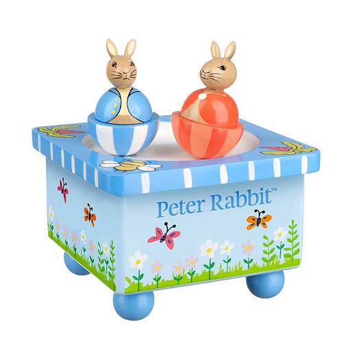Peter Rabbit Music Box - Wooden