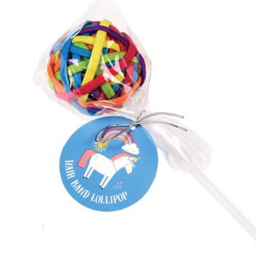 Unicorn Hair Band Lollipop - Multicolour