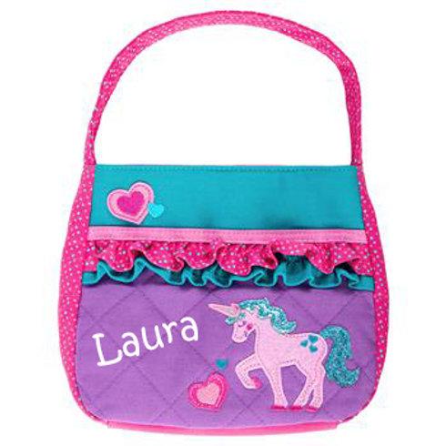 Quilted Toddler Handbag – Unicorn