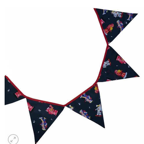Robot / Space themed Bunting - 3 mtres
