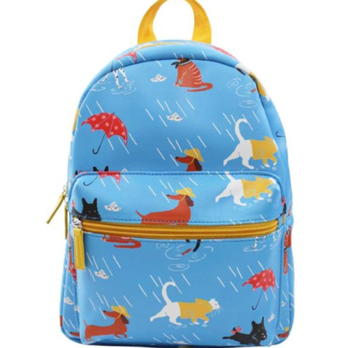 Raining Cats & Dogs Backpack - Toddler