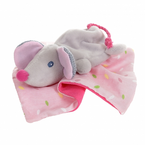 Little Mouse Blankie for Newborns - Personalised