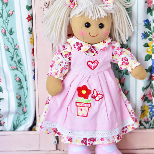 Flowerpot themed Ragdoll – PERSONALISED