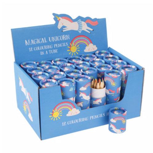 Magical Unicorn Colouring Pencils