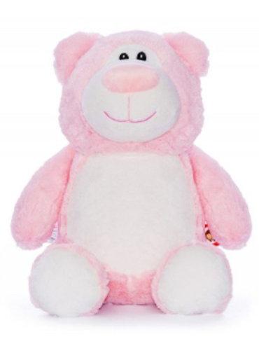 Pink Cubbie Teddy - PERSONALISED
