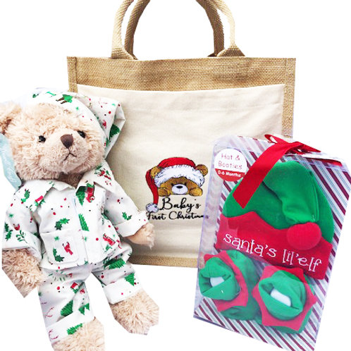 Christmas Teddy Pack - Great Newborn Gift