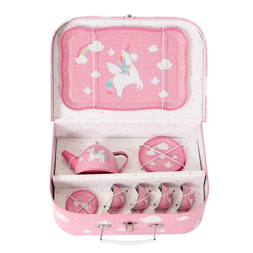 Pink Unicorn Box Tea Set - Perfect Afternoon Tea!