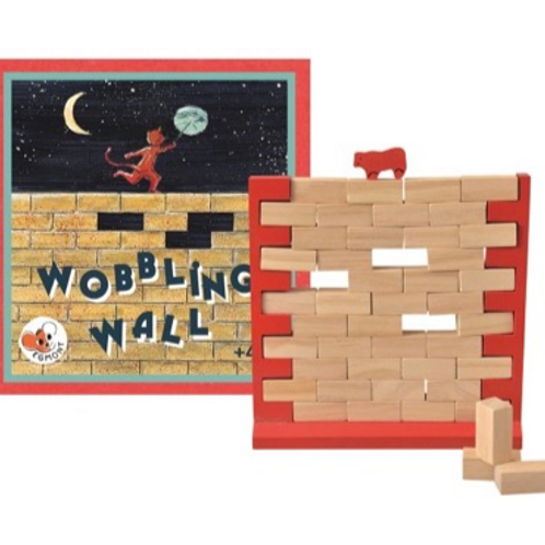 Wobbling Wall Game  - Personalised Gift Wrap