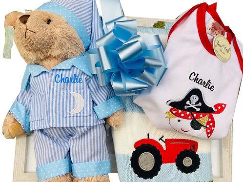Blue Luxury Teddy Packs
