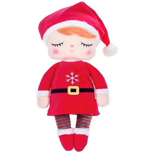 Meetoo© Plush Christmas Doll – PERSONALISED