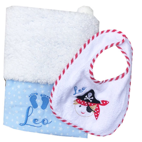 Pom Pom Baby Blankets - Personalised