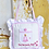 Thumbnail: Pink and White Tooth Fairy Cushion