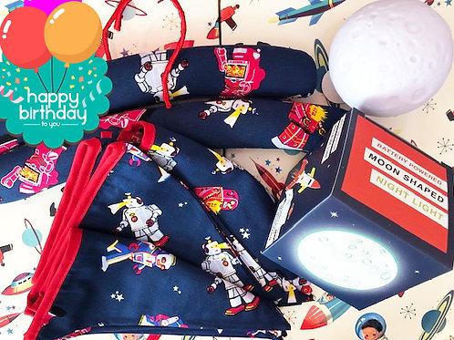 Happy Birthday Little Fella - Luxury Gift Wrap