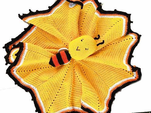 Bizzie Bee Comforter / Lovey - HANDMADE